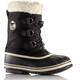 Sorel Yoot Pac Nylon Boots Youth Black